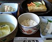 白山堅豆腐料理