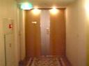 部屋は廊下のつきあたり