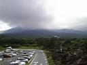 浅間山と鬼押出し