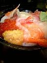 近江町市場内の海鮮丼